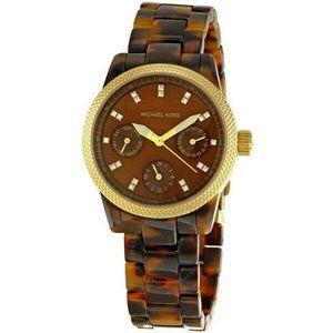 Michael Kors Ritz Tortoiseshell Watch MK5399